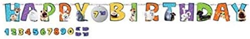 """The Secret Life Of Pets 2"" Birthday Add-An-Age Letter Banner Kit, 25 Pc."