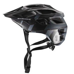 Six Six One Recon Helmet Gray/Black, L/XL 661 Full Face Helmet