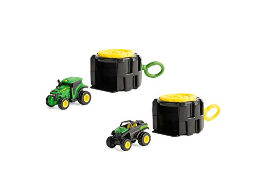 John Deere Mighty Movers Handheld Launcher Vehicle, Vehicle May Vary