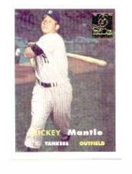 1996 Topps Mantle #7 Mickey Mantle/1957 Topps Near Mint/Mint