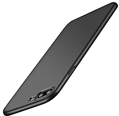 TORRAS Slim Fit iPhone 8 Plus Case/iPhone 7 Plus Case, Hard Plastic PC Ultra Thin Mobile Phone Cover Case with Matte Finish Coating Grip Compatible with iPhone 7 Plus / 8 Plus