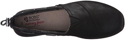 Talla Skechers Piso De negro Zapato Negro Mujeres SqwTOUqf