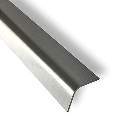 Perfil angular (acero inoxidable pulido 15 x 15 Ext 1 m ...