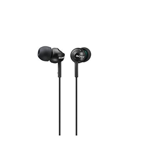 Sony Deep Bass Earphones - Metallic Black - Sony Earbud
