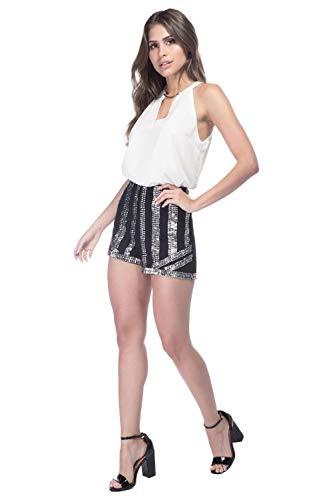 Shorts Feminino Guess Pedrarias