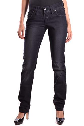 Galliano Coton Mcbi18772 Femme Jeans Noir rqr0xP