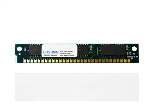 Edo Ecc Ram (4MB 30pin SIMM RAM MEMORY with Parity 4x9 60ns for Apple, macintosh, Musical sampler, old PC, Video controller)