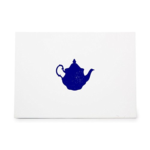 Teapot Container English Kettle Pitcher Style 4406, Rubber Stamp Shape great for Scrapbooking, Crafts, Card Making, Ink Stamping Crafts