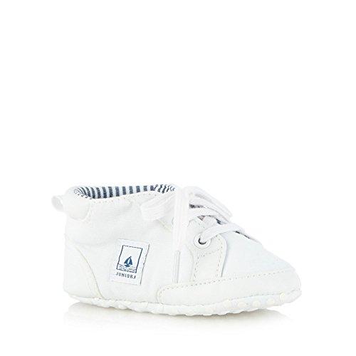 Debenhams , {Chaussures premiers pas pour bébé (garçon) blanc 9-12 mois