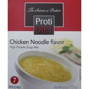 ProtiDiet poulet soupe de nouilles