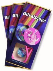 Beach Scene Ultrascope Stethoscope w Adult Head Teal Tubing