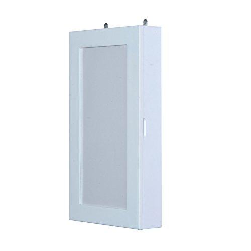 homcom-22-photo-frame-jewelry-organizer-wall-cabinet-white