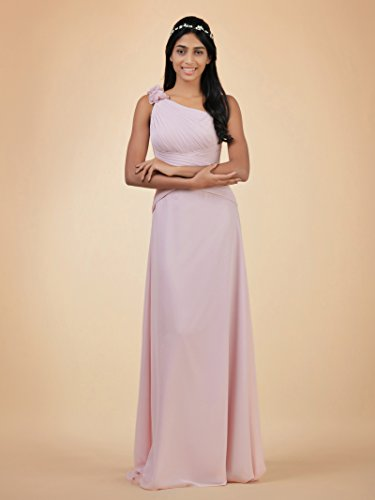 Evening Dress Alicepub Shoulder One Chiffon Bridesmaid Asymmetric Maxi Lavender Dress Bridal wXIqgr4I