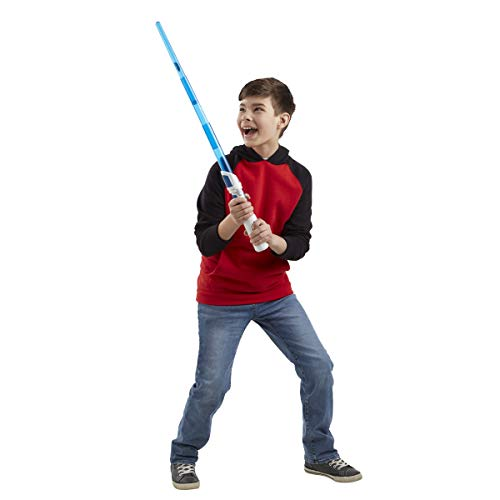 31YN4qpMkHL - Star Wars Scream Saber Lightsaber Toy, Record Your Own Inventive Lightsaber Sounds & Pretend to Battle, for Kids Roleplay Ages 4 & Up