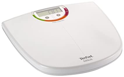 Tefal Evolis, LCD, Blanco, Alcalino, 1.5 V LR03 - Báscula de baño