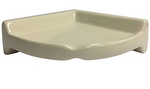 American Ceramic Tile - Corner Shower Shelf - U135 Almond