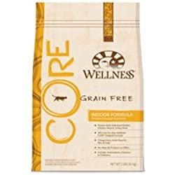 Wellness CORE Grain Free Indoor Dry Cat Food, Wellness - Net Wt. 2 LBS