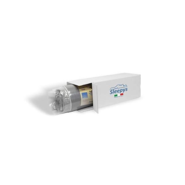 Materasso Memory Air Matrimoniale 160x190 a portanza differenziata, Altezza: 24 cm, rigidità 8.5 su 10. Ortopedico… 5 spesavip