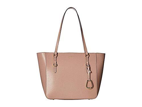 LAUREN Ralph Lauren Women's Bennington Saffiano Shopper Mellow Pink One Size (Ralph Shopper)