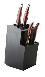 Gestufter Universaler Messerblock - Aufbewahrung und Ordnung für Ihre Messer...
