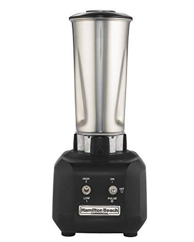 Hamilton Beach HBB250SR Commercial Rio Bar Blender with 32-Ounce Stainless-Steel Container, Black by Hamilton Beach