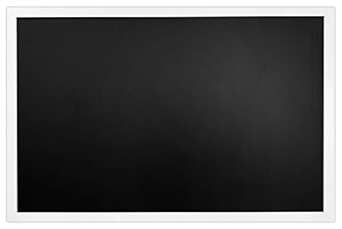 White Framed Premium Surface Magnetic Large Chalk Board- 24