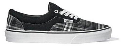 Vans Era (Harrigan Plaid) Black/True White (5.0, (Harrigan Plaid) Black/True White) -