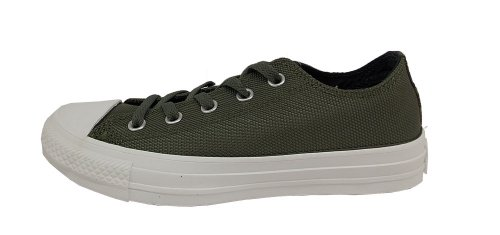 Converse Low Top Chuck Star Green Taylor All Men's Leather Army Sneaker rqfRTrC
