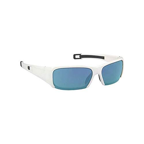 (Bangerz  Sports Sunglasses,White/Blue Mirror,HS-8400WB )