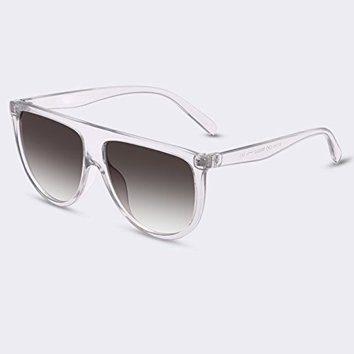 femenino de Gafas el gafas TIANLIANG04 lujo de gradiente Mujer sol gafas Moda Señor C04 de para de C05 UV400 75qY6x6w