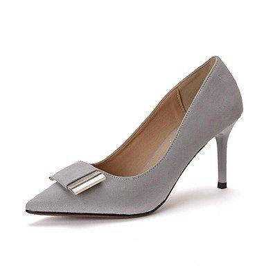 Zormey Tacones Mujer Primavera Verano Otoño Zapatos Club Comfort Fleece Oficina &Amp; Carrera Parte &Amp; Traje De Noche Stiletto Talón Bowknot Caminando US5.5 / EU36 / UK3.5 / CN35