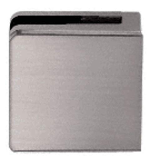 - C.R. LAURENCE Z810BN CRL Brushed Nickel Z-Series Square Type Flat Base Zinc Clamp for 3/8