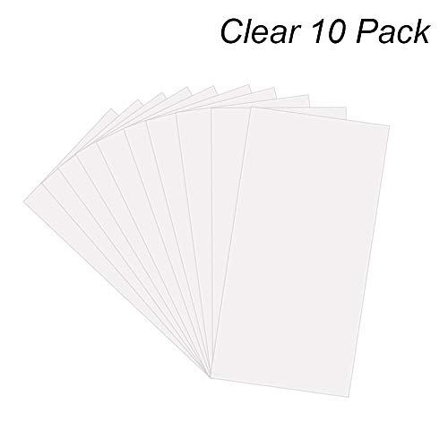- 14 Pack 6 Mil CLEAR Mylar Stencil Sheets, 12