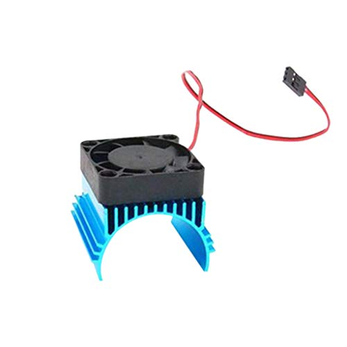 UKtrade RC Car HSP Blue 42mm Alum Heat Sink DC5V Fan Cooling for Engine Motor Radiator 4274 4074 1515: Amazon.co.uk: Baby