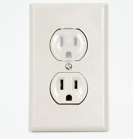 baby products, safety,  electrical safety 5 picture Outlet Plug Covers (32 Pack) Clear Child Proof deals