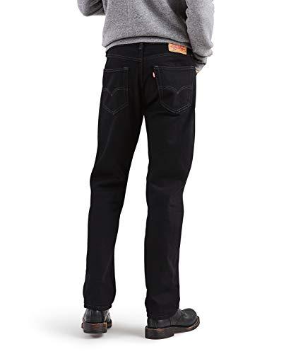 Levi's Regular Fit Jean 505 para hombre, negro 31x30