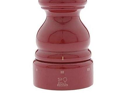 PEUGEOT 23560 Paris uSelect - Molinillo de Pimienta (12 cm, Lacado), Color Rojo: Amazon.es: Hogar