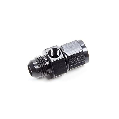 Fragola 495006-BL Black One Size Inline Gauge Adapter #8 Male X #8 Fem: Automotive