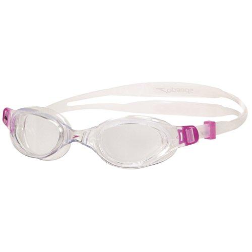 Speedo Schwimmbrille Futura Plus Junior, Purple/Clear, One Size, 8-090109310ONESIZE