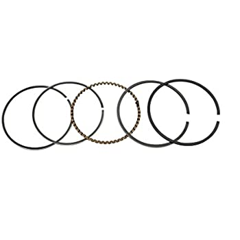 GOOFIT Piston Rings Set for 49cc 50cc Taotao Kazuma SSR Horizontal Engine ATV Scooter Engine Part