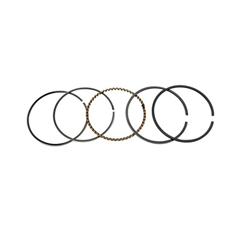 (GOOFIT Piston Rings Set Assembly for GY6 80cc ATV Dirt Bike Go Kart Moped Scooter Engine Part)