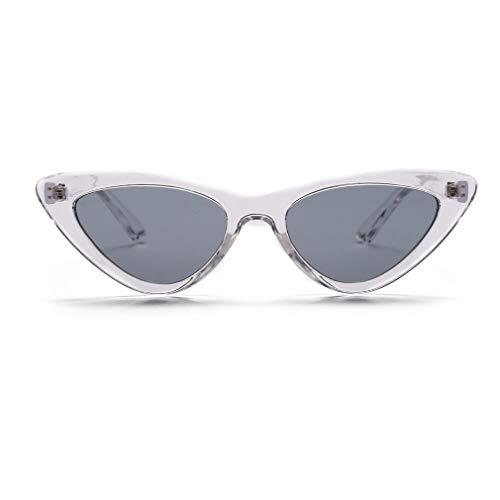 Hombre Retro de Eye Polarizadas Cat Sol UV400 de Gafas Unisex Sol Ligero Espejo Fliegend Lente Vintage Mujer Súper Gafas C6 Gafas pgwPzqpdxn