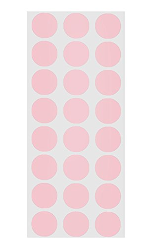 (½ inch Library-School Labels for Books/Classrooms (Pink))