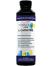 Maxion L-Carnitine 1500mg with Vitamin B5 to Aid in Fat Metabolism and Muscle Recovery After Exercise, Orange Flavour, 450 mL