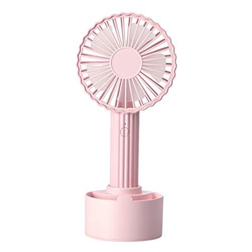 Adjustable Matt Nickel (Cactus Shape Portable USB Cooling Fan Handheld Mini Fan with 3 Adjustable Speeds Pink)
