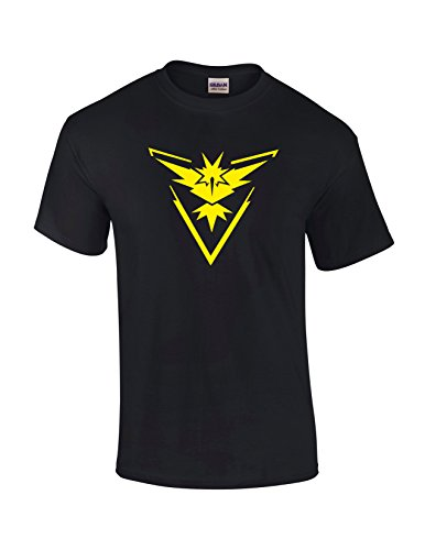 Pokemon-Go-Logo-Team-Valor-Instinct-Mystic-Symbol-T-Shirt-Tee-Cosplay-Costume-T-Shirt