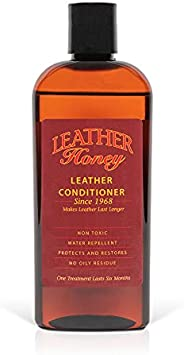 Leather Honey Leather Conditioner, Best Leather Conditioner Since 1968. for Use on Leather Apparel, Furniture,