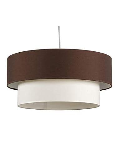 Lámpara de techo con doble pantalla: Amazon.es: Iluminación