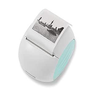 Hengta Impresora térmica portátil Rosa Mini WiFi Impresión ...