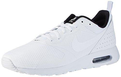 Nike Air Max Tavas, Scarpe da Ginnastica Basse Uomo Bianco (White/White/Black)